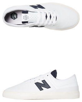 WHITE NAVY MENS FOOTWEAR NEW BALANCE SNEAKERS - NM379WWNWNVY