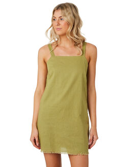 MOSS WOMENS CLOTHING NUDE LUCY DRESSES - NU23776MOSS