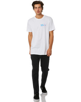WHITE MENS CLOTHING THE LOBSTER SHANTY TEES - LBSHMTEEWHT
