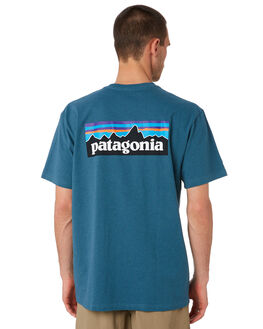 TASMANIAN TEAL MENS CLOTHING PATAGONIA TEES - 39174TATE