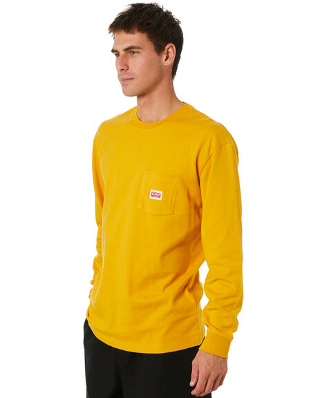 YELLOW MENS CLOTHING XLARGE TEES - XL004003YLW