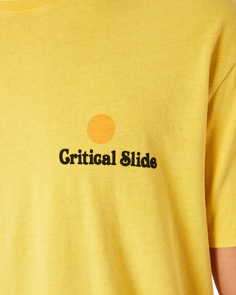 SUN MENS CLOTHING THE CRITICAL SLIDE SOCIETY TEES - TE18189SUN
