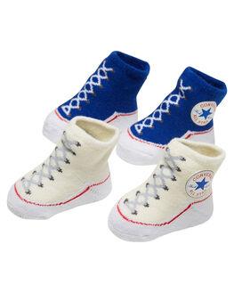 BLUE KIDS BABY CONVERSE FOOTWEAR - RLC0001BLU