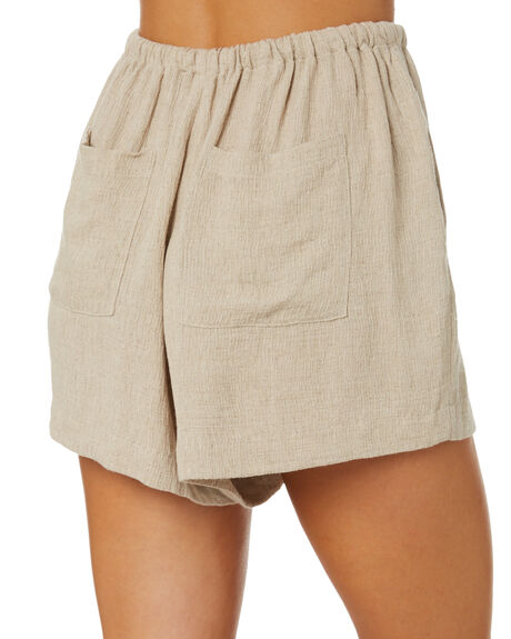 OAT WOMENS CLOTHING NUDE LUCY SHORTS - NU23988OAT