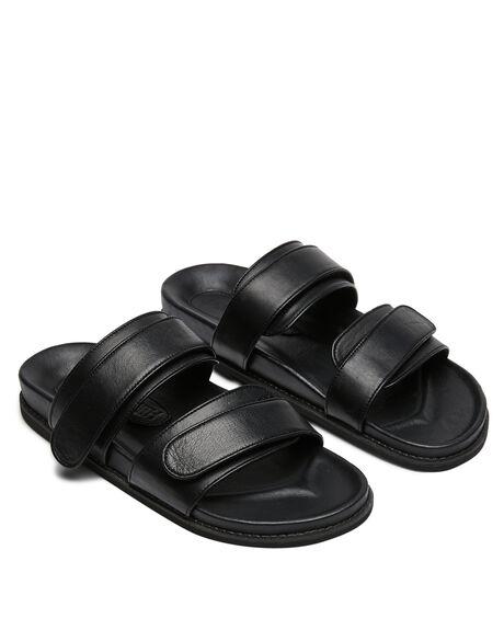 BLACK WOMENS FOOTWEAR JAMES SMITH FASHION SANDALS - 14158406BLK