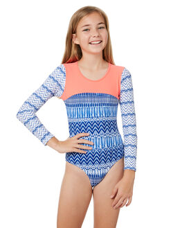 INDIGO WAVES KIDS GIRLS PLATYPUS AUSTRALIA SWIMWEAR - PY57LRI-18IND