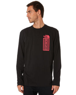 TNF BLACK MENS CLOTHING THE NORTH FACE TEES - NF0A47NBJK3