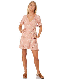 PRINT WOMENS CLOTHING ELWOOD DRESSES - W84710PRI
