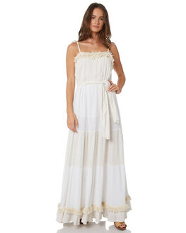 WHITE WOMENS CLOTHING TIGERLILY DRESSES - T391435WHT