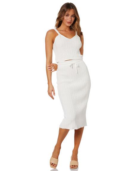 WHITE WOMENS CLOTHING RUE STIIC FASHION TOPS - WS-20-K-12-W-CTW
