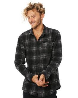 BLACK MENS CLOTHING BILLABONG SHIRTS - 9586201BLK