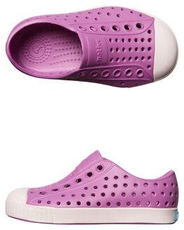 PURPLE MILK KIDS GIRLS NATIVE FOOTWEAR - 13100100-5325