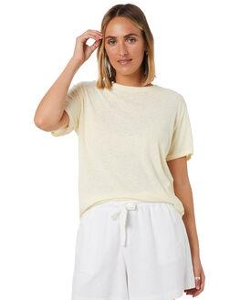LEMON WOMENS CLOTHING SWELL TEES - S8201006NATRL