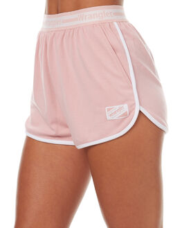 PINK WOMENS CLOTHING WRANGLER SHORTS - W-950919-333PINK