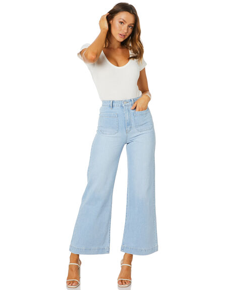 TASH BLUE WOMENS CLOTHING ROLLAS JEANS - 13332-4576