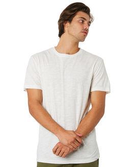 WHITE MENS CLOTHING RHYTHM TEES - JUL19M-CT01-WHT