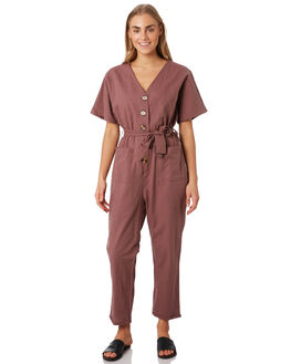 DUSTY PINK WOMENS CLOTHING ELWOOD PLAYSUITS + OVERALLS - W93709-ANQ