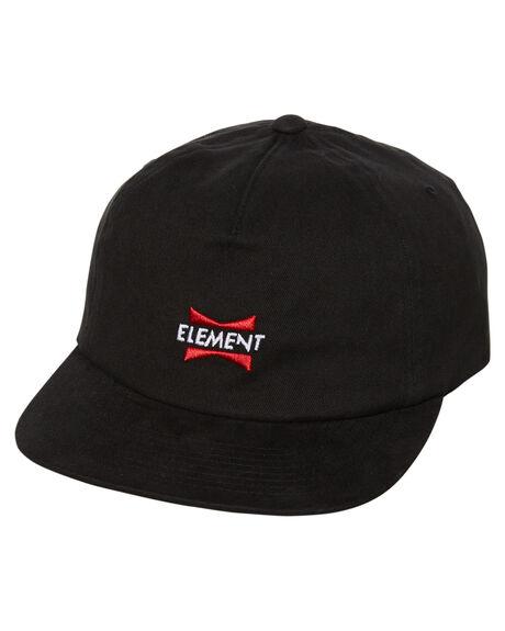 FLINT BLACK MENS ACCESSORIES ELEMENT HEADWEAR - 186607AFBLK