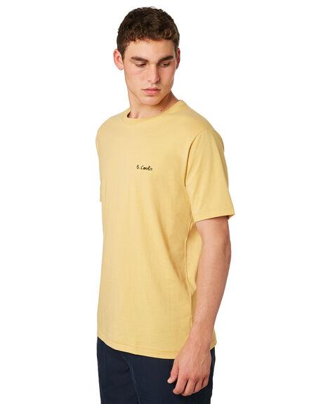 MUSTARD MENS CLOTHING BARNEY COOLS TEES - 102-CR4MUSTD