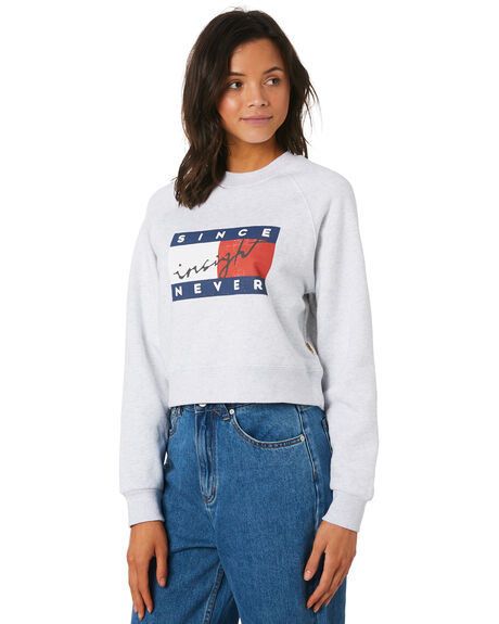 GREY MARLE WOMENS CLOTHING INSIGHT JUMPERS - 5000003549GRY