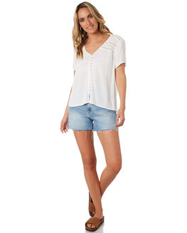 OFF WHITE WOMENS CLOTHING RIP CURL FASHION TOPS - GSHGH10003