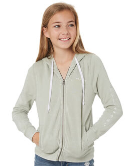 MINERAL GREEN KIDS GIRLS BILLABONG JUMPERS + JACKETS - 5595732MNG