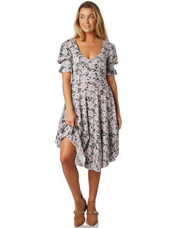BLACK WOMENS CLOTHING THE HIDDEN WAY DRESSES - H8184442BLACK