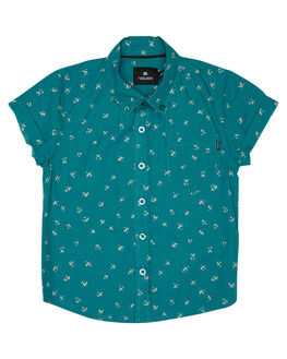TEAL KIDS TODDLER BOYS ST GOLIATH SHIRTS - 2820022TEAL