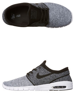 WHITE BLACK GREY MENS FOOTWEAR NIKE SNEAKERS - SS631303-102M