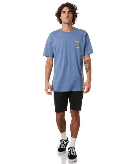LIBERTY BLUE MENS CLOTHING NO NEWS TEES - N5222003LBLU