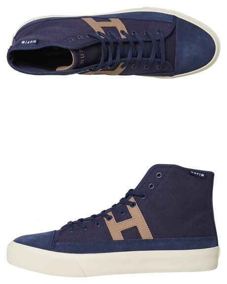 NAVY MENS FOOTWEAR HUF SKATE SHOES - VC00055NVY