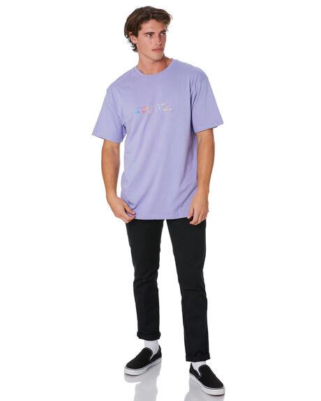 PURPLE MENS CLOTHING DYED TEES - DY20LIPPRPL