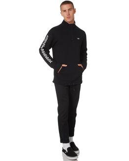 BLACK CHECKERBOARD MENS CLOTHING VANS JACKETS - VNA3W3D95YBLKCH