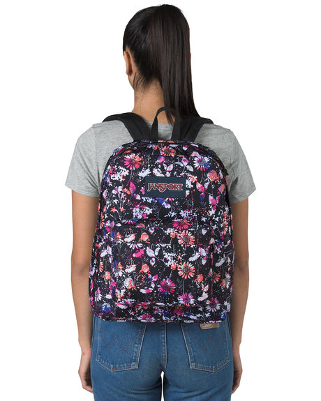 CHROMA FLORAL WOMENS ACCESSORIES JANSPORT BAGS + BACKPACKS - JS0A4QUTJS74W