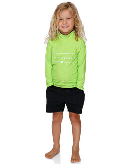 NEON GREEN BOARDSPORTS SURF BILLABONG BOYS - BB-7791502-NGN