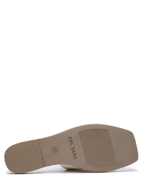 OFF WHITE OUTLET WOMENS SOL SANA SLIDES - SS202S313OWHIG