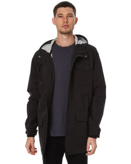 BLACK MENS CLOTHING GLOBE JACKETS - GB01737007BLK
