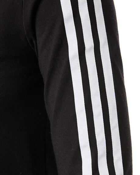 BLACK WOMENS CLOTHING ADIDAS TEES - DV2608BLK