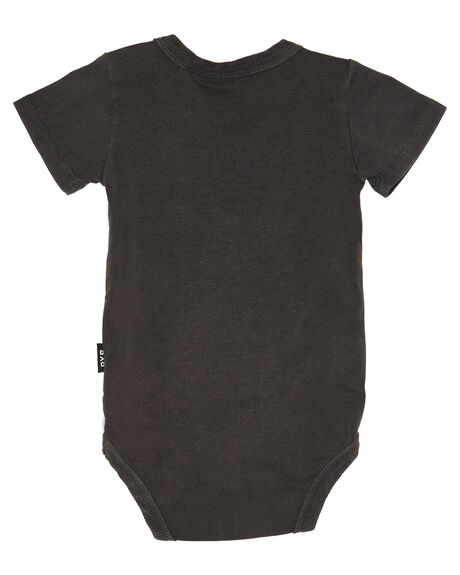 CHARCOAL WASH OUTLET KIDS ROCK YOUR BABY CLOTHING - BBB1850-NCHARW