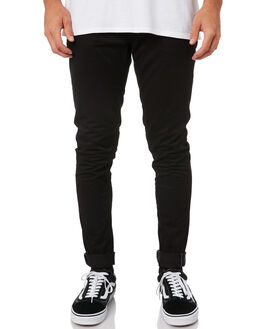 BLACK MENS CLOTHING VOLCOM PANTS - A1112003BLK