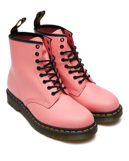 ACID PINK WOMENS FOOTWEAR DR. MARTENS BOOTS - SS25714653APINKW