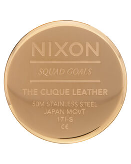 GOLD WHITE BLACK WOMENS ACCESSORIES NIXON WATCHES - A1250-1964