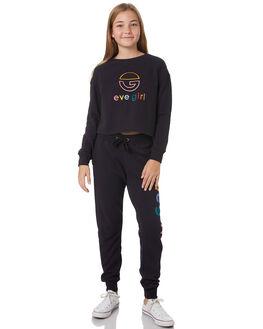 WASHED BLACK KIDS GIRLS EVES SISTER JUMPERS + JACKETS - 9531008WBLK