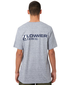 GREY MARLE OUTLET MENS LOWER TEES - LO18Q3MTS02GRYM