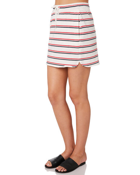 NAVY RED WOMENS CLOTHING HUFFER SKIRTS - WSK84S5202-680