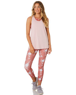 BLUSH WHITE WOMENS CLOTHING ARCAA MOVEMENT ACTIVEWEAR - 1A027-1BLSHW