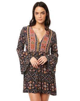 INDIGO WOMENS CLOTHING TIGERLILY DRESSES - T381403IND