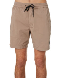 BEIGE MENS CLOTHING VOLCOM SHORTS - A1001901BGE