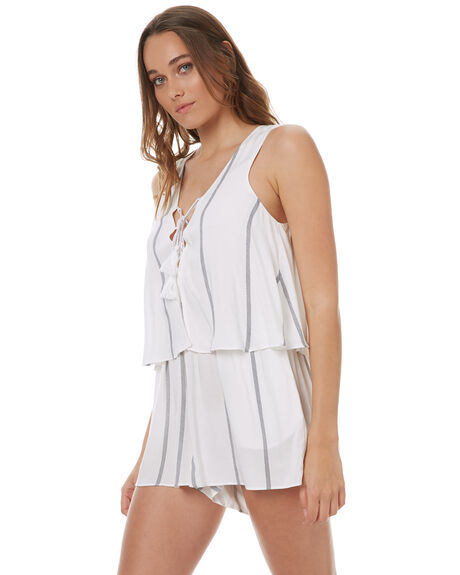NAVY STRIPE OUTLET WOMENS ELWOOD PLAYSUITS + OVERALLS - W73703NAVY