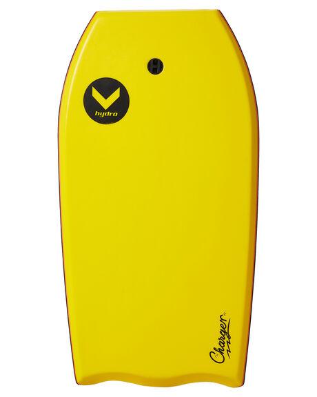 YELLOW WHITE BOARDSPORTS SURF HYDRO BOARDS - CB18-HYDYELW